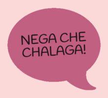 NEGA CHE CHALAGA - PINK One Piece - Short Sleeve