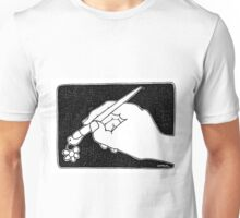 Pen,pigeon and flower Unisex T-Shirt