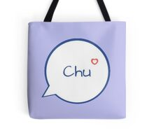CHU - LIGHT BLUE Tote Bag
