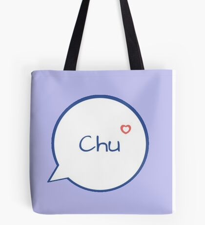 CHU - LIGHT BLUE Tote Bag