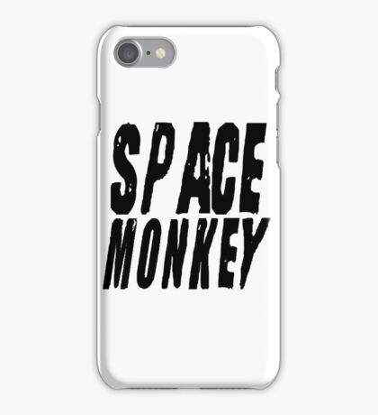 Fight Club Quote Movie Famous Anarchy Space Monkey iPhone Case/Skin