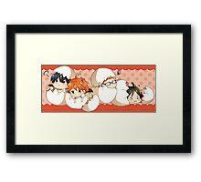 Haikyuu!! - Chibi Haikyuu!! Anime Framed Print