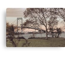 Just Over the Bay Canvas Print