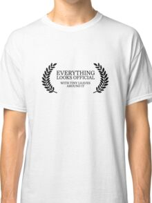 Festival Funny Movies Comedy Quote Clever Smart Classic T-Shirt