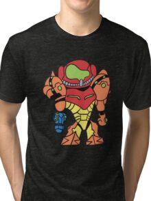 Robot Girl Tri-blend T-Shirt