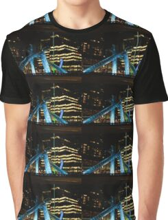 Vancouver - 2010 Olympic Cauldron Lit at Night Graphic T-Shirt