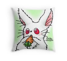 Cute Bunilla Throw Pillow