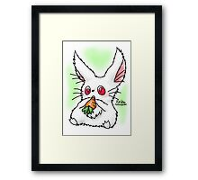 Cute Bunilla Framed Print