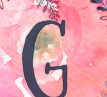 Pretty in Pink - G Sticker