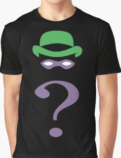 The riddler minimalist Graphic T-Shirt