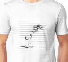 Stick Figures Romance Unisex T-Shirt