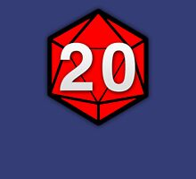 Natural 20 (Red Dice) - Critical Role Unisex T-Shirt