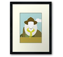 Wes Anderson - Moonrise Kingdom - Edward Norton - Boy scout Framed Print