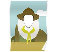 Wes Anderson - Moonrise Kingdom - Edward Norton - Boy scout Poster