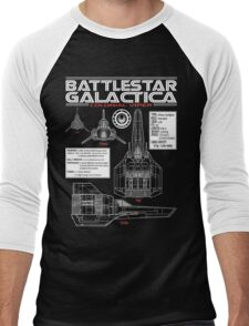 BATTLESTAR GALACTICA COLONIAL VIPER Men's Baseball ¾ T-Shirt