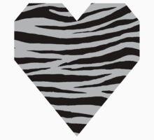 0294 Gray (X11) Tiger Kids Tee