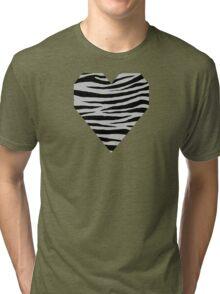0294 Gray (X11) Tiger Tri-blend T-Shirt