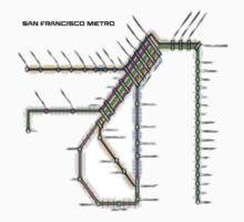 San Francisco Metro Baby Tee
