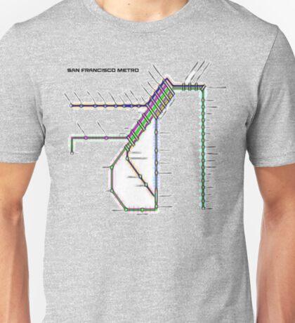 San Francisco Metro Unisex T-Shirt