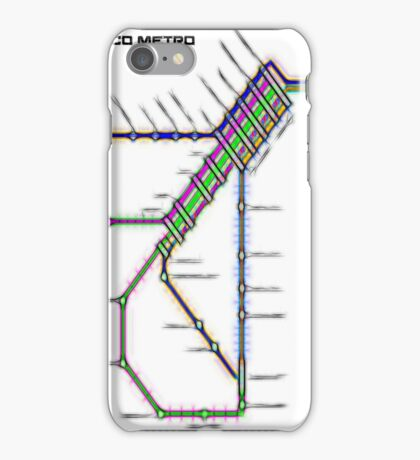 San Francisco Metro iPhone Case/Skin