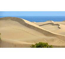 Sculpted dune Photographic Print