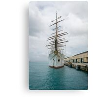 Traditional Sailing Ship, Sea Cloud Canvas Print