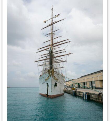Traditional Sailing Ship, Sea Cloud Sticker