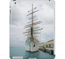 Traditional Sailing Ship, Sea Cloud iPad Case/Skin