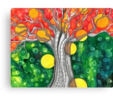 The Fae Tree      Earth Day Canvas Print