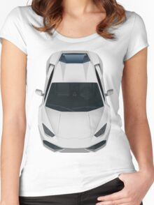 Lamborghini Huracan Women's Fitted Scoop T-Shirt