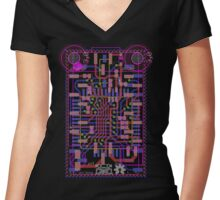 Arduino Nametag Women's Fitted V-Neck T-Shirt