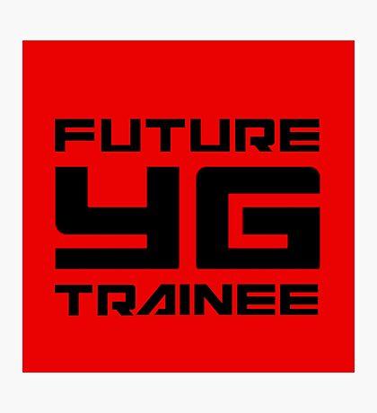 FUTURE YG TRAINEE - RED Photographic Print