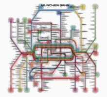 München U-Bahn S-Bahn Kids Tee