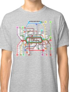 München U-Bahn S-Bahn Classic T-Shirt