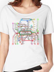 München U-Bahn S-Bahn Women's Relaxed Fit T-Shirt