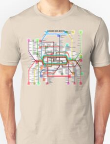 München U-Bahn S-Bahn Unisex T-Shirt