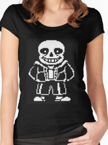 Sans Women's Fitted Scoop T-Shirt