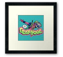 Fresh Pool (cool colors) Framed Print