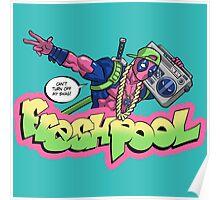 Fresh Pool (cool colors) Poster