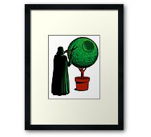 Vader's True Passion... Framed Print