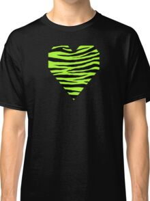 0298 Green-Yellow Tiger Classic T-Shirt