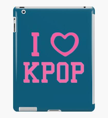 I HEART KPOP - BLUE iPad Case/Skin