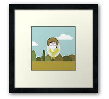 Wes Anderson - Moonrise Kingdom - Sam Shakusky - Boy scout Framed Print