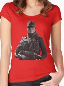 Rainbow Six Siege *Ash* Women's Fitted Scoop T-Shirt