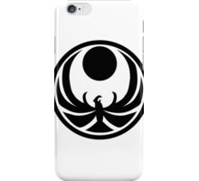 Nightingale's guild emblem iPhone Case/Skin