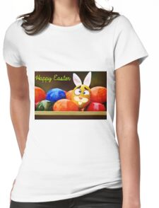 Easter fun Womens Fitted T-Shirt