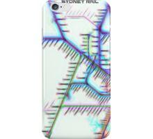 Sydney City Rail Map iPhone Case/Skin