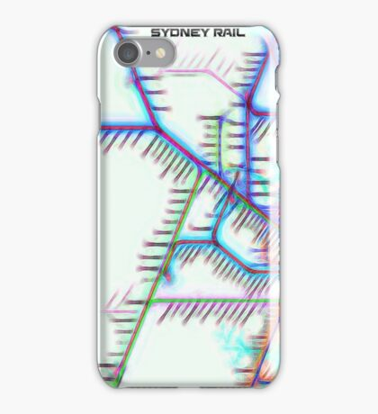 Sydney City Rail Map iPhone Case/Skin