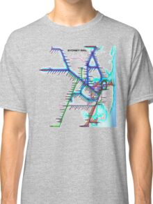 Sydney City Rail Map Classic T-Shirt
