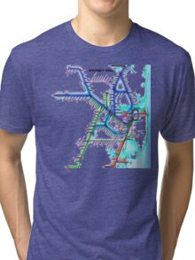 Sydney City Rail Map Tri-blend T-Shirt